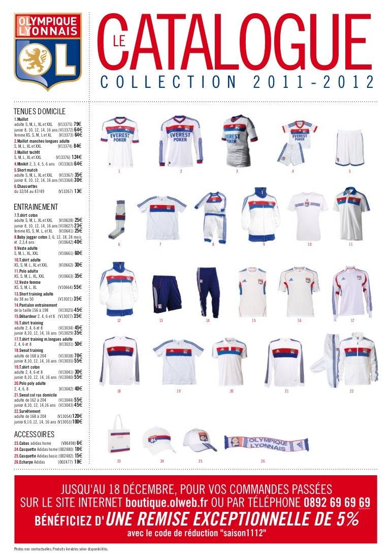 3a73a2d4f77b6 Olympique Lyonnais - Catalogue de commande 2011/2012