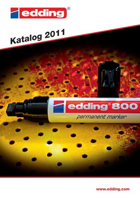 insgesamt 2 Stifte in Blau Edding 4095 im Set wie auf Foto