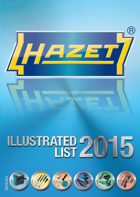 HAZET 426-6 Hexagon Profile Flexible Socket Key Multi-Colour