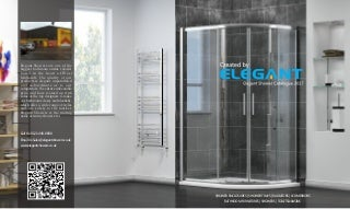 Elegant Shower Catalog.Adding An Imagination To Your Bathroom