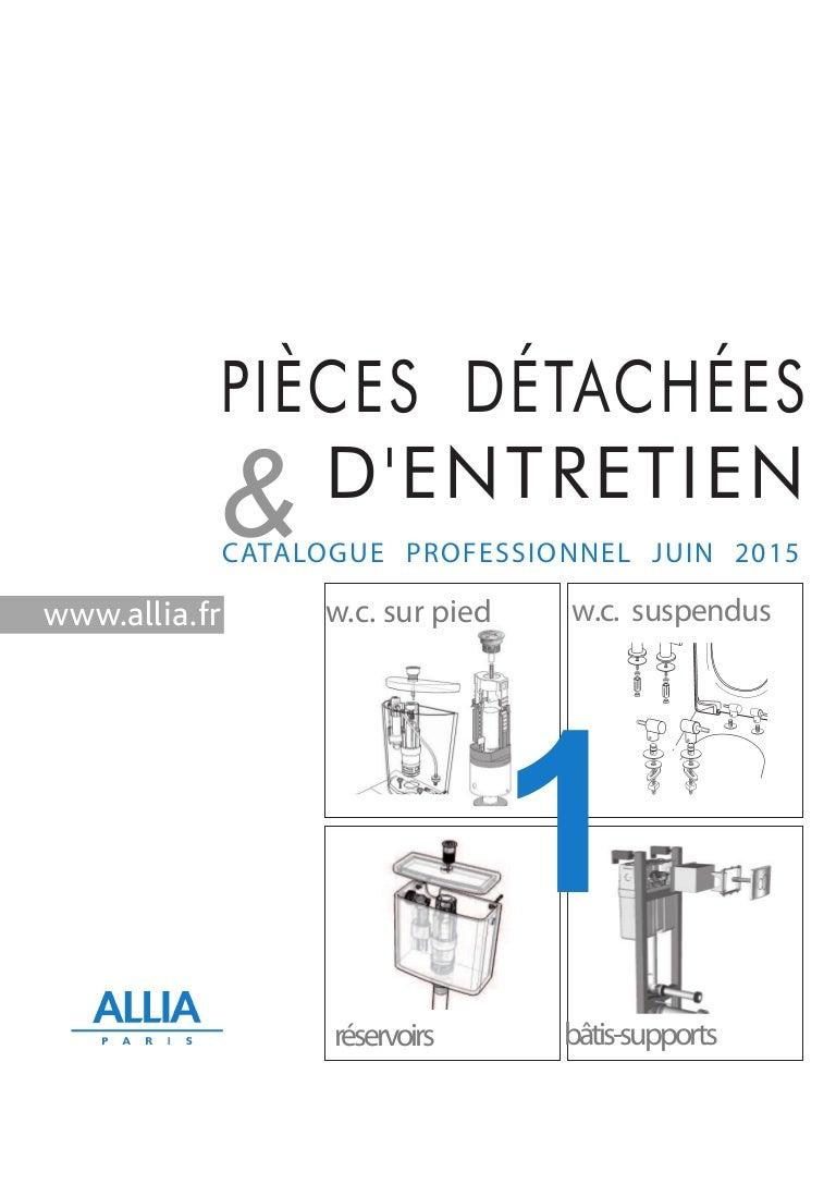 Marque De Toilette Suspendue catalogue pièces détachées n1 : wc au sol et suspendus