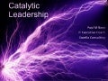 Catalytic Leadership   Agile Tour Montreal