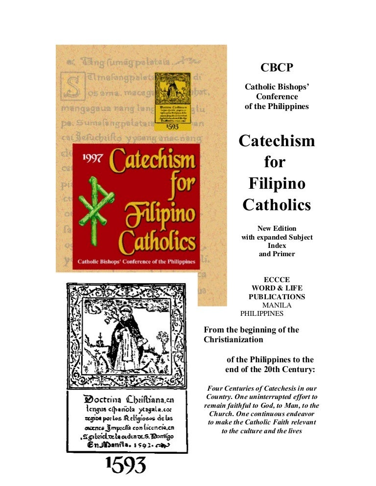 Catechism for filipino catholics (cfc)