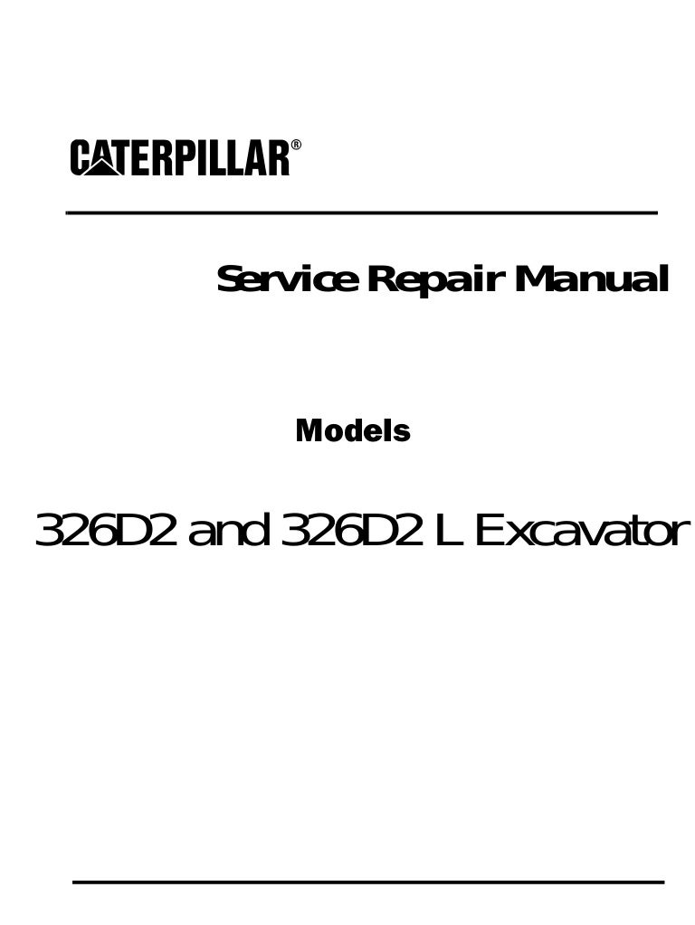 Free Caterpillar cat 326 d2 l excavator (prefix kgy