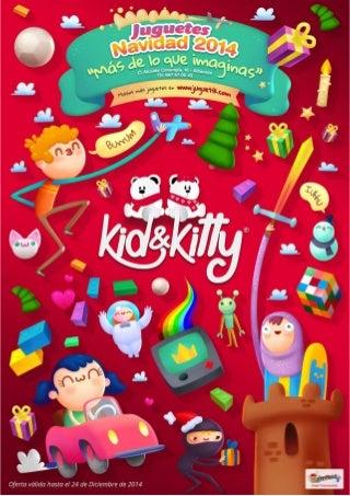Juguetería Kid&Kitty Albacete - Catálogo navidad 2014