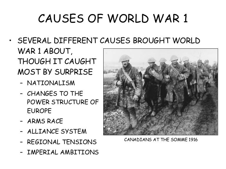 causes of world war