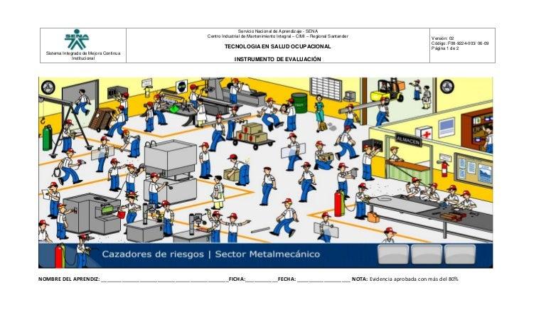 Cazadores de riesgos for Riesgos laborales en oficinas administrativas