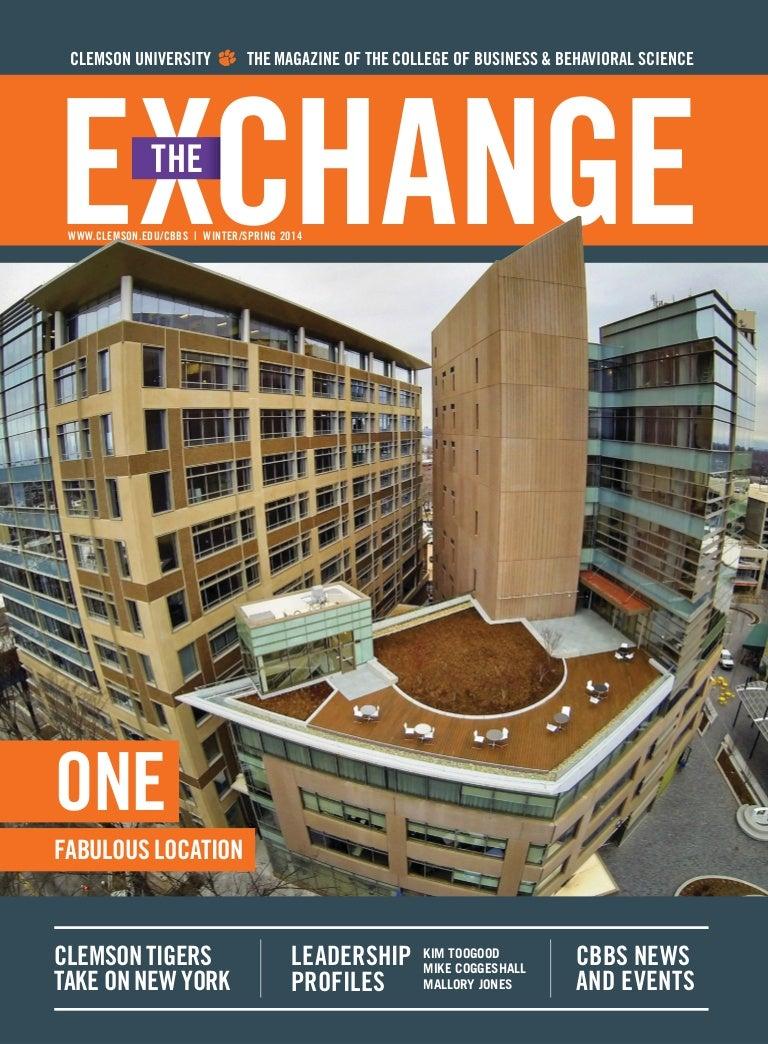 The Exchange Magazine, Clemson University