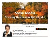 Growing Your Business With LinkedIn |  Commercial Brokers Group