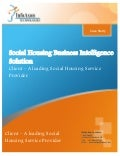 Business Intelligence Solution for Social Housing - Case study