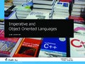 Introduction - Imperative and Object-Oriented Languages
