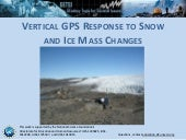 Vertical GPS Response to Snow and Ice Mass Changes
