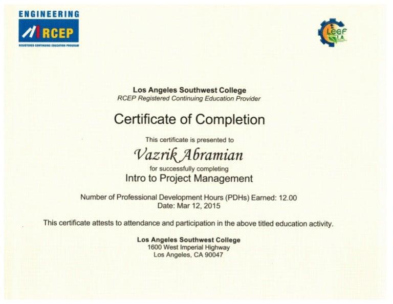 rcep certificates cpm slideshare