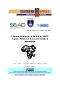 Climate change and health in the SADC Region