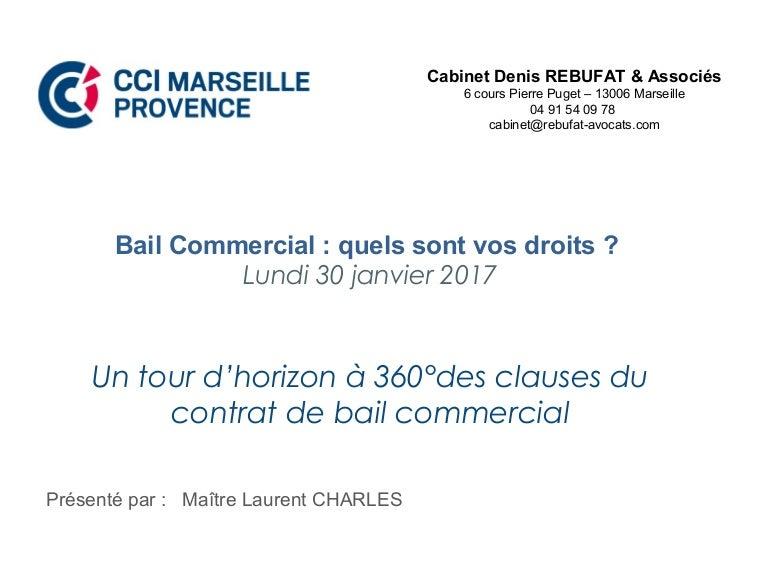 Ccimp Le Bail Commercial Quels Sont Vos Droits