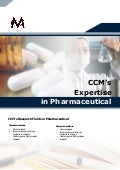 CCM's Expertise in Pharmaceuticals