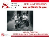 Looking for a gender perspective in ICT4D: CCM presentation