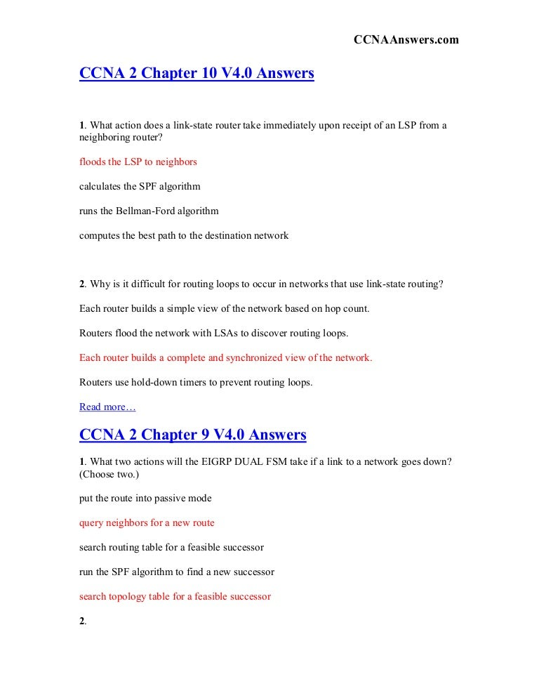 Ccna 1 chapter 11 study guide | command line interface | ip address.