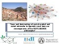 Loss and destruction of social capital and social networks in Spanish rural areas