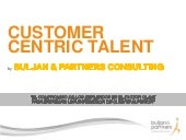 Customer Centric Talent Leadership by Buljan and Partners Consulting