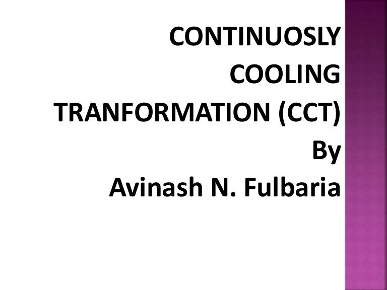 Cct curve continuos cooling transformation ccuart Images