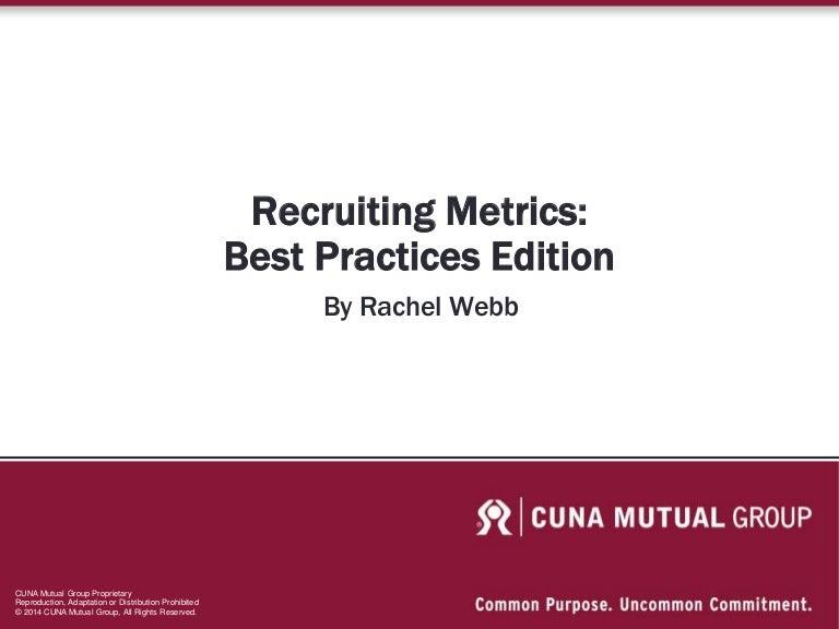 Recruiting Metrics Presentation