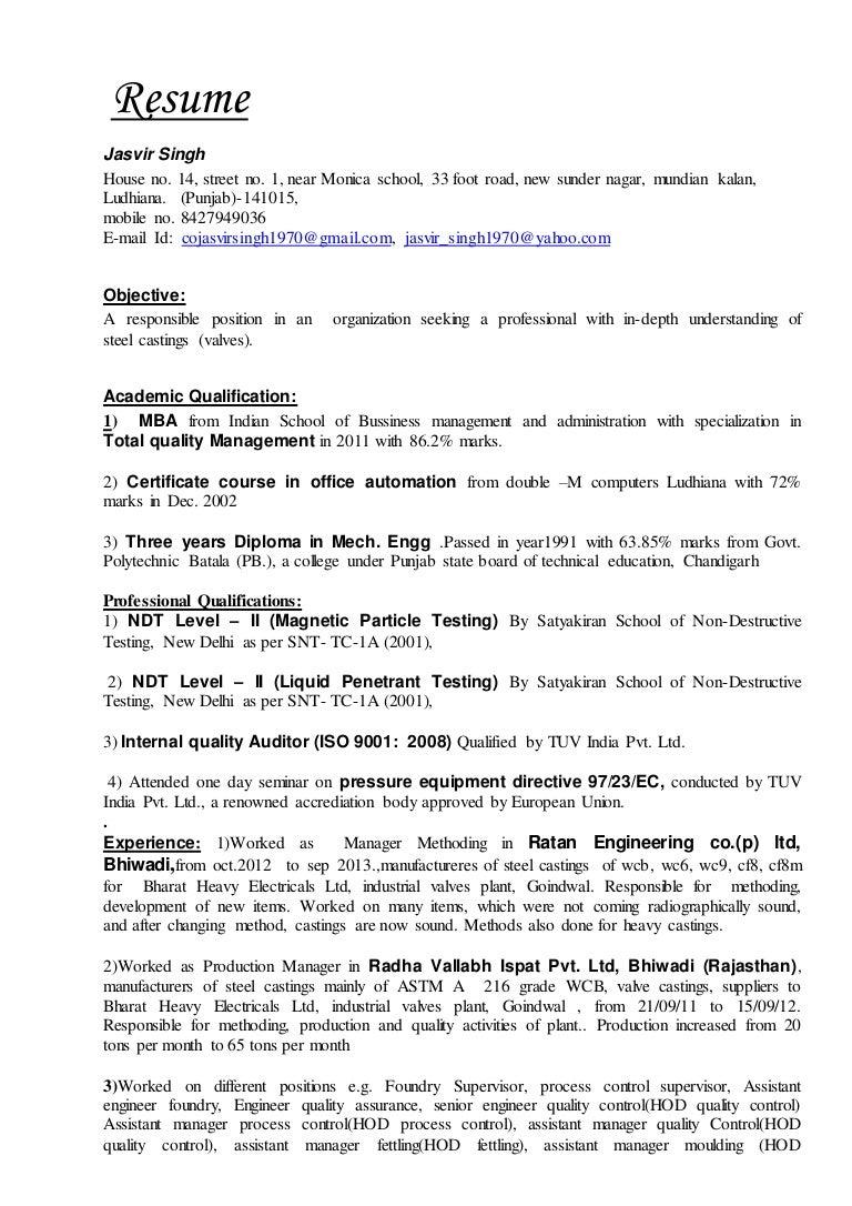 Senior Auditor Resume. resume resume format for volunteer nurses ...