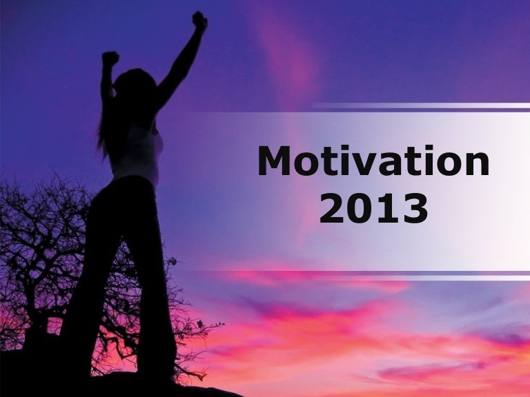 Motivation powerpoint ppt content modern sample toneelgroepblik Choice Image