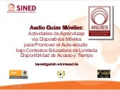 Podcast Multimedia para M-Learning