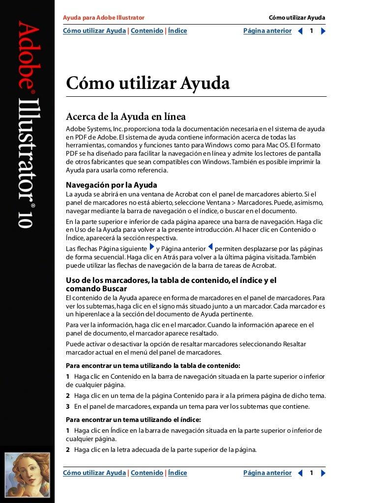 Manual Español 500 pag. Adobe Illustrator