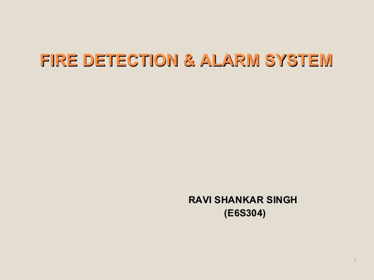 fire detection and alarm system rh slideshare net Tariff of 1842 fire protection manual issued by tariff advisory committee (india)