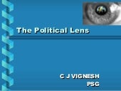 the political lens The federal reserve bank of dallas established the globalization institute in 2007 for the purpose of better understanding how the process of deepening economic integration between the countries of the world, or globalization, alters the environment in which us monetary policy decisions are made.