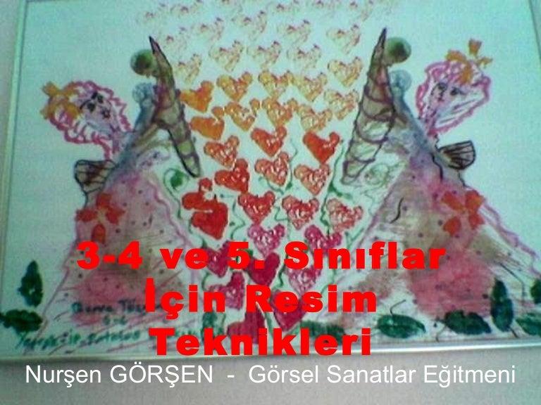 3 4 5 Sinif Ornek