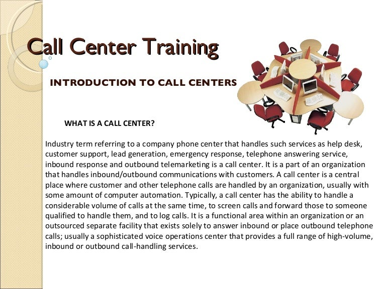 Callcenter Training