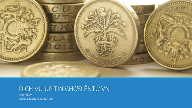 Hướng dẫn Up tin trên ChợĐiệnTử.vn