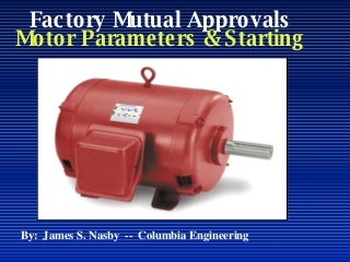 Fire Pump Motor Starting