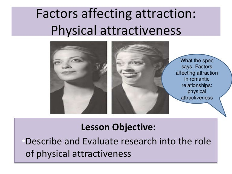 Romantic attraction vs physical attraction