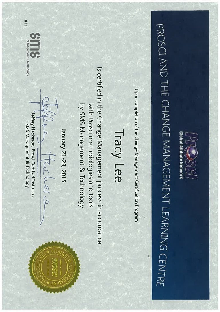 Certificate prosci certificate 1betcityfo Images