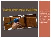 Cedar Park Pest Service
