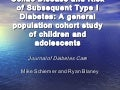 Nutritional Science Research: Celiac Disease & Risk of Subsequent Type I Diabetes