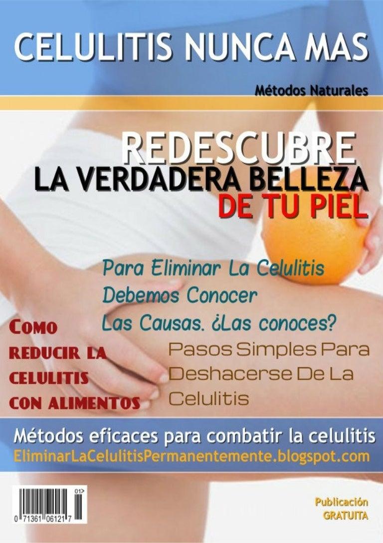alimentos adecuada para eliminar la celulitis