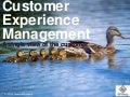 CEM the true version - one view of the customer