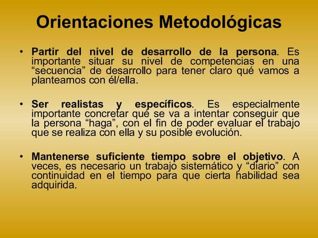 Centro De Vida Independiente Metodologicas