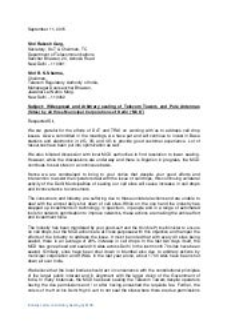 CAll Drop Fiasco - Telco's Send Letter to DoT, TRAI
