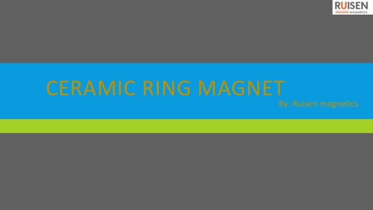 Looking for Affordable Ceramic Ring Magnet
