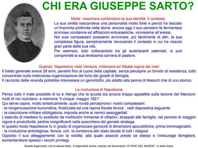 Chi era Giuseppe Sarto?