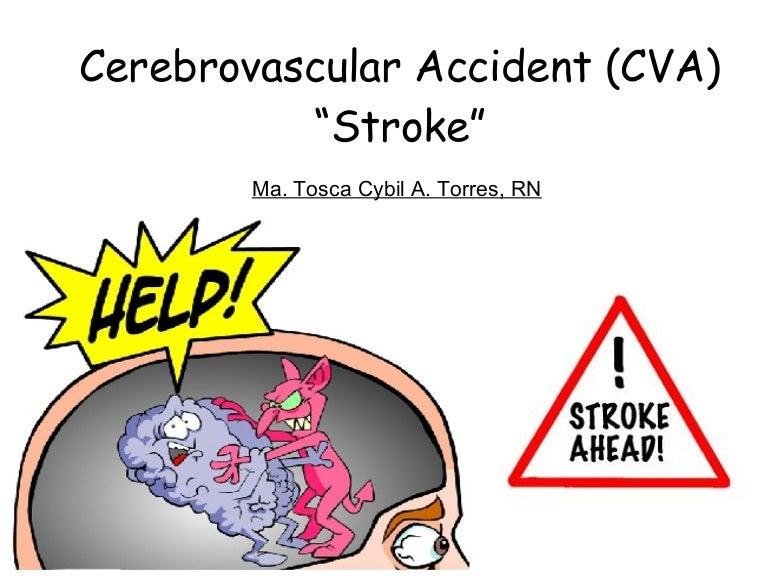 cerebrovascular accident (cva), Skeleton