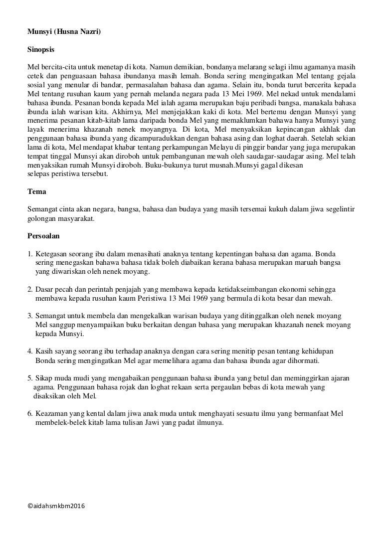 Soalan Cerpen Jaket Kulit Kijang Dari Istanbul Selangor K