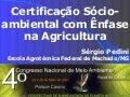 Certificação Socioambiental