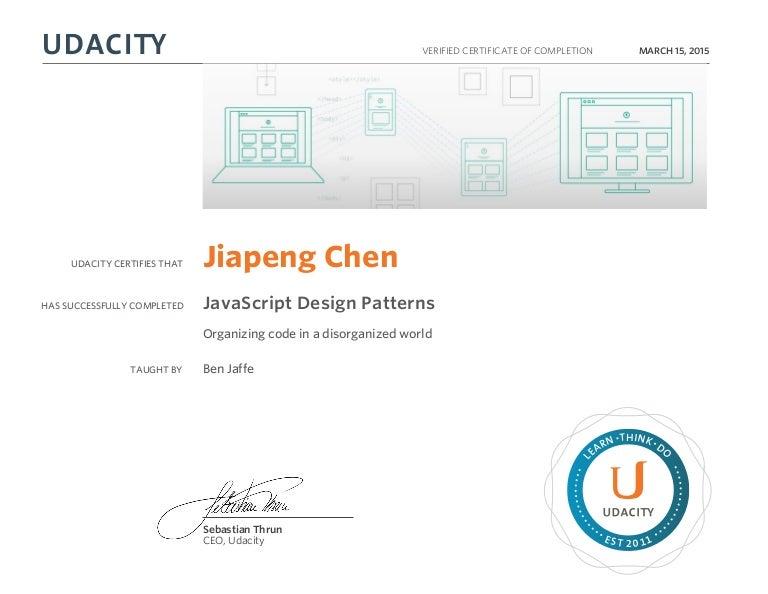 Javascript design patterns 2015 — photo 2
